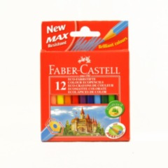 Colouring Pencils - FaberCastell 12 Pack half size