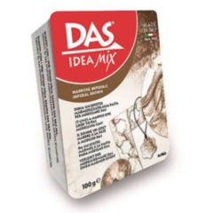DAS Idea Mix 100g (imperial brown) Marbling Clay
