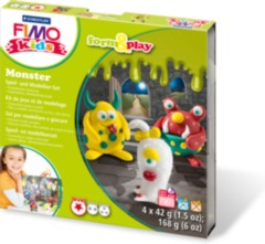 FIMO kids modelling sets Monsters