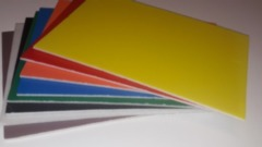 A4 Hard Foam Board Asst Colours 8 Sheets