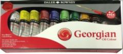 Georgian Oil Colour Studio Set (includes FREE brush)