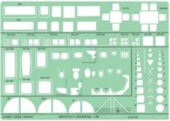 Linex Universal Architects template 1:50