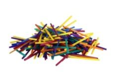 Matchsticks 250 Pack - Coloured