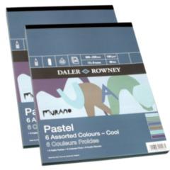 "Murano Pad 6 Cool Colours 12"" x 9"""