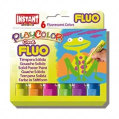 Playcolor One Fluorscent Poster Paint Sticks