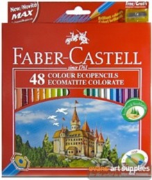 Colouring Pencils - Faber Castell 48 full length colouring pencils