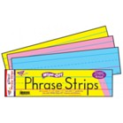 "3"" x 12"" Phrase Strip Assorted Colours"