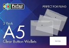 BUTTON WALLETS A5 PK 3