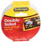 DOUBLE SIDED TAPE 9mmX5m