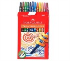 FABER TWISTABLE WAX CRAYONS