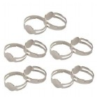 Lucys Silver adjustable finger rings