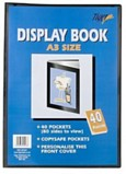 A3 Display Book 20 Pockets