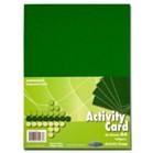 Premier A4 160gsm Activity Card 50 Sheets - Asparagus