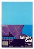 Premier A4 160gsm Activity Card 50 Sheets - Turquoise