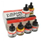 ACRYLIC INK LETTERING SET 6