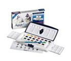 Aquafine Watercolour 20 Half Pan Paint Set
