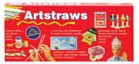 Artstraws Box of 300 - White and Coloured straws
