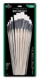 VALUE PK BRUSH SET FLAT TAKLON