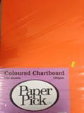 Paper Pick Chartboard 100 Sheets - Assorted Colours
