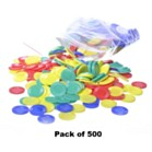 Counters 22m Discs Pack of 500