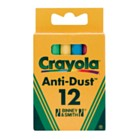 Crayola Coloured Chalk 12 Boxes