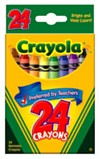 Crayons Pack of 24 - Assorted