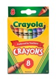 Crayons Pack of 8 - Assorted