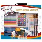 Mixed Media Art Set 200 Pieces