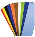 Crepe Paper Pack of 10 - Assorted Colours