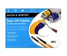 Disposable Daler Rowney Tear off Palette A4