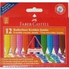 Crayons - Faber Castell Erasable crayons jumbo