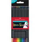 Faber Castell Black edition colouring pencils 12