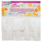 Family cutouts Pack of 10