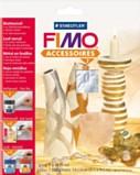 Fimo Silver Leaf Metal Foil 10 sheets