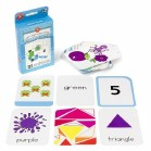 FLASHCARDS COLOURS SHAPES NOS