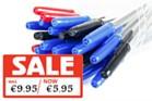 Pens - Focus Ballpoint Pens 50 Pack - Black