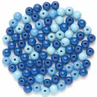 BEADS WOODEN 80 TURQUOISE