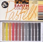 Earth Colour Pastel Pack of 12