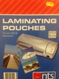 Laminating Pouches A4 150  Micron Pack of 100
