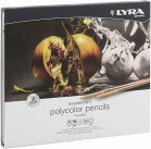 Lyra Polycolor Pencils Set 24 Coloured