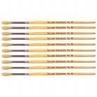 Major Hog Bristle Brush - round size 8