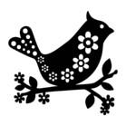 Marabu Stencil - BIRDS & FLOWERS
