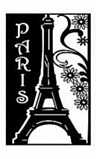 Marabu Stencil - ROMANTIC PARIS