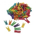 Mini Clothes Pegs Pack - Assorted Colours