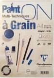 Paint ON Multi-Techniques a Grain A4