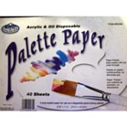 Disposable Acrylic & Oil Palette Paper (40 Sheets)