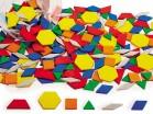 PATTERN BLOCKS PLASTIC 250 pc