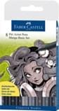 Faber Castell pitt Artist pens Manga Basic set (8 pack)