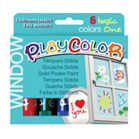 Playcolor One Window Poster Paint Sticks