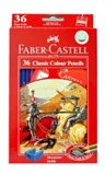 Colouring Pencils - Faber Castell 36 full length colouring pencils